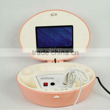 Professional Facial Skin Scanner Health Hair Analyser with Comparison photos and LCD Screen Beauty Machine AU-958