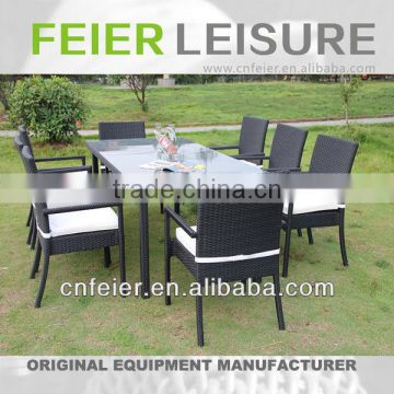 FEIER A6056CH 9 PCS Furniture Dining Set with 30% Discount