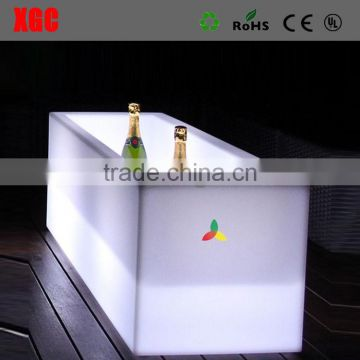 square led wine bucket , cheap price rectangular ice bucket GH202