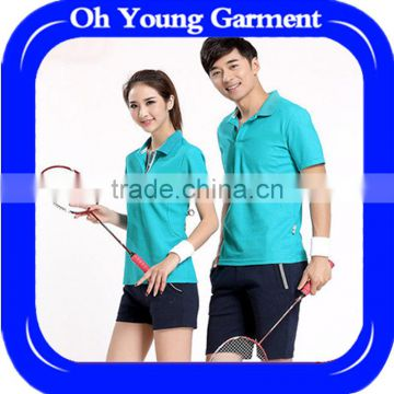 2017 new fashion badminton shirts,sport wear for women 2015 and custom sublimation badminton jersey