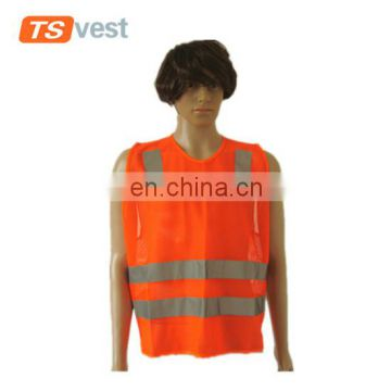 Hot selling Security Roadway Safety Protective reflective vest
