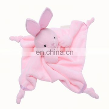 Promotional Hot Sale Baby Plush Teddy Bear Toys soft blanket toy for baby