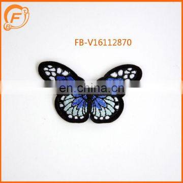 Embroidery Butterfly Design For Dress And Embroidery Patch