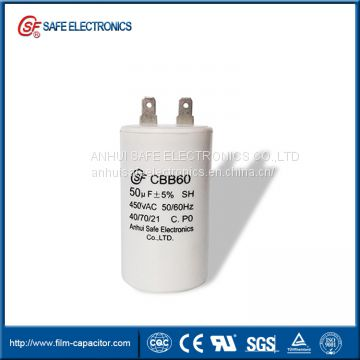 CBB60 washing machine capacitor