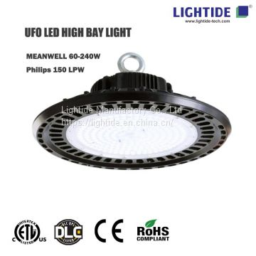 ETL/CE/DLC listed UFO LED High_Low Bay Lights 150W