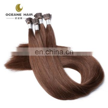 double drawn 100 keratin i tip human hair extension 2g strands i tip hair extensions
