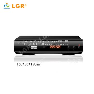 2018 Cheap best 1080P Full HD dvb t2 set top box dvb-t2