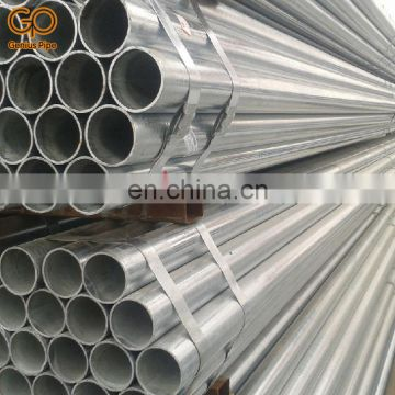 Hot sell and high quality 1.5 inch 5 8 inch schedule 40 galvanized steel pipe