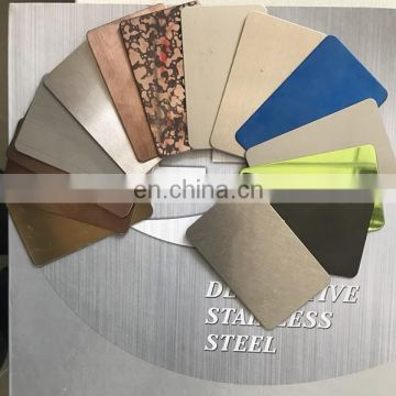 Color Hairline Finish 2mm 3mm Stainless Steel Sheet Coil Plate Sheet