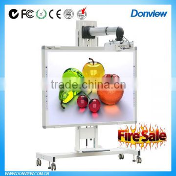 Best smart interactive whiteboard for classroom,support 2 user