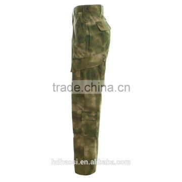 Manufacture High quality Rip-stop TC Camouflage ACU military uniforms T-tacs FG colors Navy Uniforms