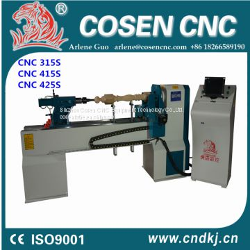 CNC wood lathe for turning from China COSEN CNC BRAND