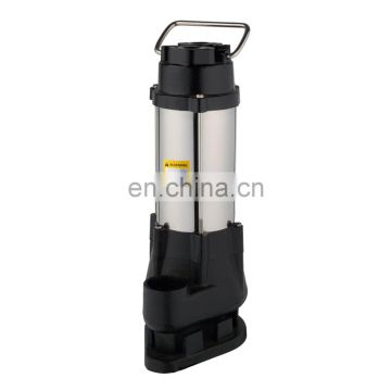 Portable vertical mini stainless steel electric submersible water pump