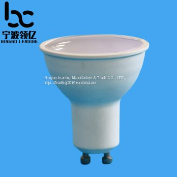 GU10-BDL High light transmittance LED spotlamp of lens cover&cup