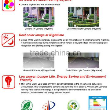 Colin low price outdoor waterproof long range night vision ir color ccd home made hidden camera