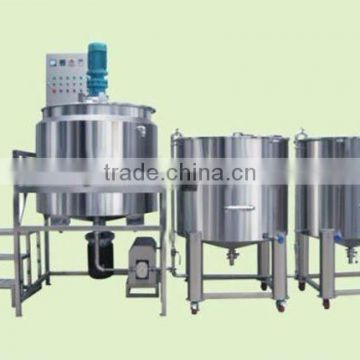 Jinfeng PMC cosmetics heating and mixing machine