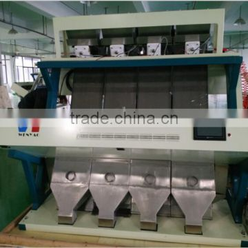 high quality almond color sorter machine in hefei