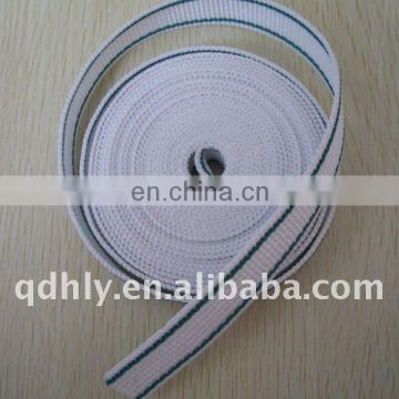 High tenacity PP webbing with colorful line