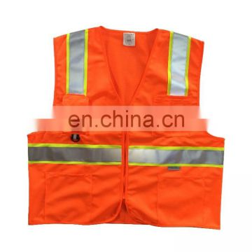 Traffic reflective safety vest for road protection