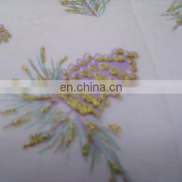 New design good quality Printed organza