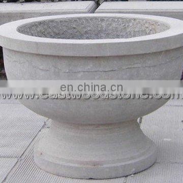 limestone flower pot