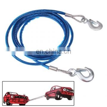 4m 5 Tons Steel Vehicle Towing Cable Rope