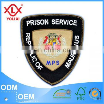 private security badges for garments