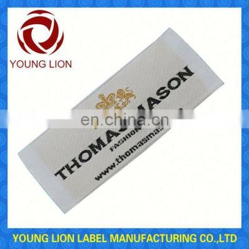 woven label and tags