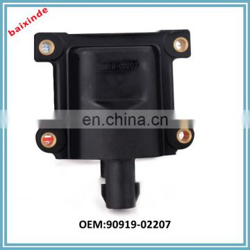 China supplier premium quality ignition coil OEM:90919-02209 90919-02207 for sales