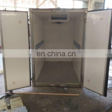Below 2500mm Length Refrigerated Truck Box Body