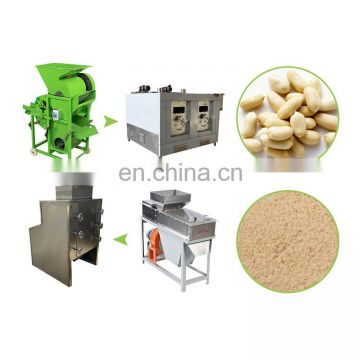 peanut powder making machine peanut shelling machine small peanut shelling machine