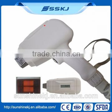 2 In 1 Q-Switch Yag Laser And Laser 1 HZ Type 808 Diode Laser Hair Removal Machine 800mj