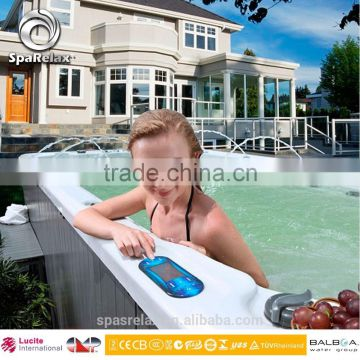 Swimming Spa/Balboa Outdoor Swim Spa factory with CE and SAA for EU and Oceanic markets