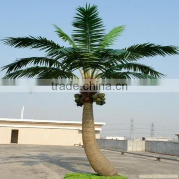LXY082407 large outdoor bonsai trees artificial coconut palm tree decorative coconut tree