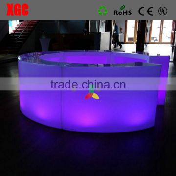 commercial led furniture for wine bar design counter GF310