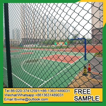 Chain link fence pvc coating steel wire 4.0mm
