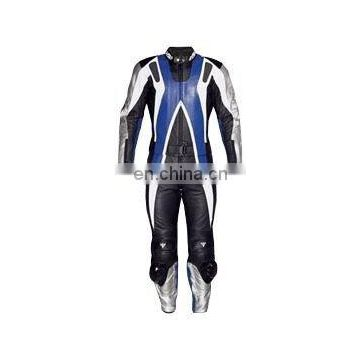 Leather Motorbike Racing Suit (L-S 008)