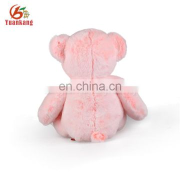 Cute Valentine Plush Toy Gift Wholesale PinkTeddy Bear Stuffed Plush Valentine Teddy Bear