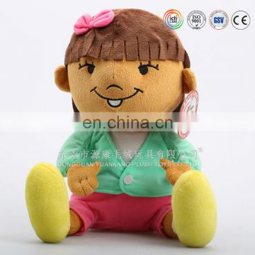 Plush Material and Ugly Doll Type Doll