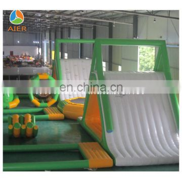 2016 inflatable water games amusement park combo/ Inflatable fun city for sale