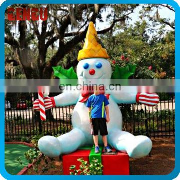 Snowman Statue Children Amusement Park Attractions