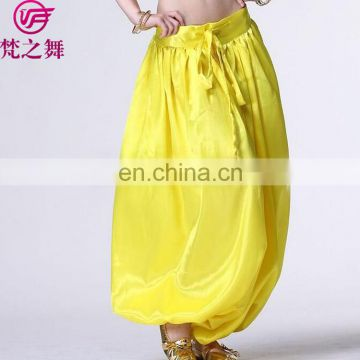Arabian style hot sale satin Belly dance harem pants for women K-4031#