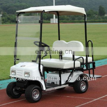 CE approved 4 Seater Designer Golf Cart, Cheap Utility Vechicle with Top Control System and Rear 2N1 Kit | AX-A3-14