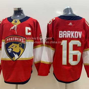 timeless design 72f03 959b2 Florida Panthers #16 Barkov Red Jersey of Men Jersey from ...