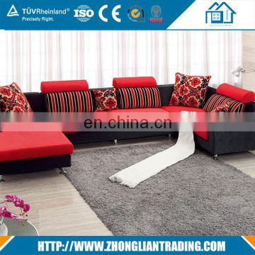 new special flower tv room fabric sofa sets