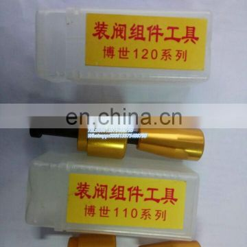 Assembly and disassembly tools for common rail tools control valve for cr injectors