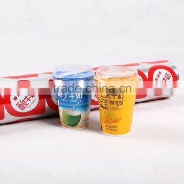 JC deodorant stick packaging,yogurt/cheese sealing film,pvc stretch