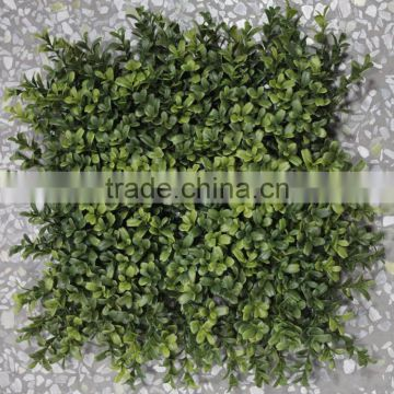 2017newest design artificial mat interior decor color plastic boxwood