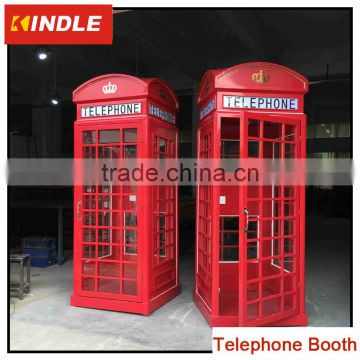 Old telephone booth phone booth for sale of Public Equipment