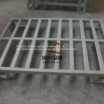 1.2m x 1m Galvanized Metal Steel Strong Pallet For Storage